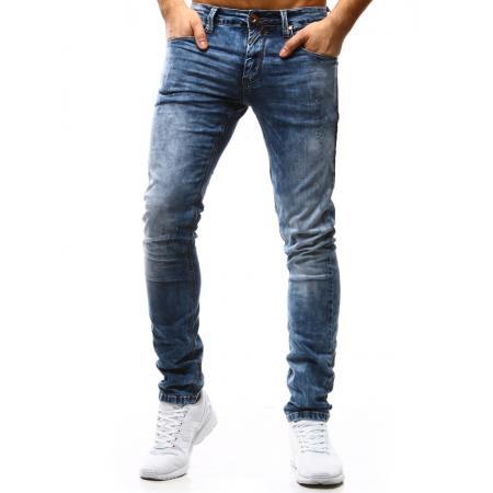 Pánske jeansové nohavice - modré