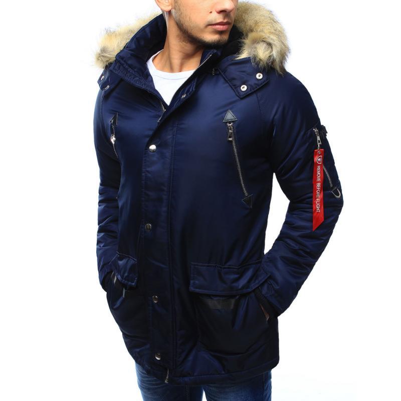 6dc053a871 Pánska bunda zimné granátová