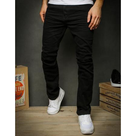 Pánske jeansy čierne UX2323