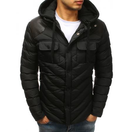 Pánska zimná bunda WINTER prešívaná čierna