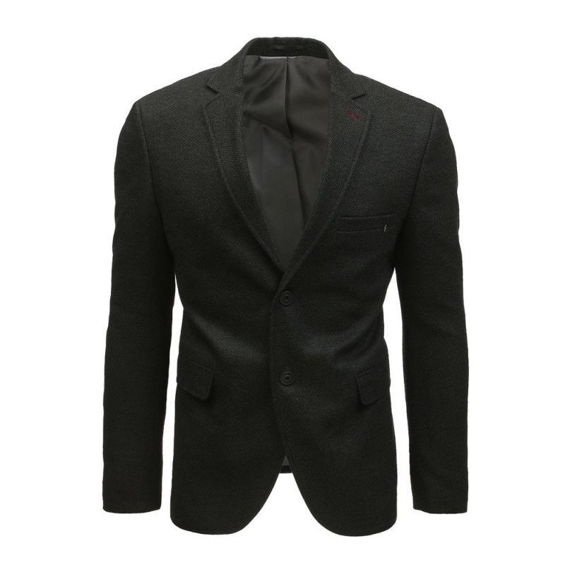 4d3ea4a0514e Elegantné pánske sako čierne