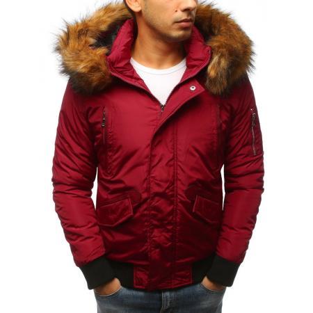 Pánska zimná bunda WINTER červená