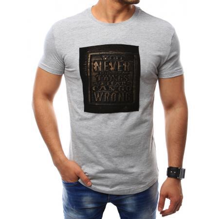 Pánské šédé tričko