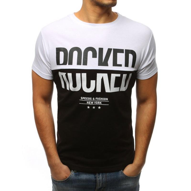 285c926bcc51 Pánska tričko MODERN s potlačou bielej