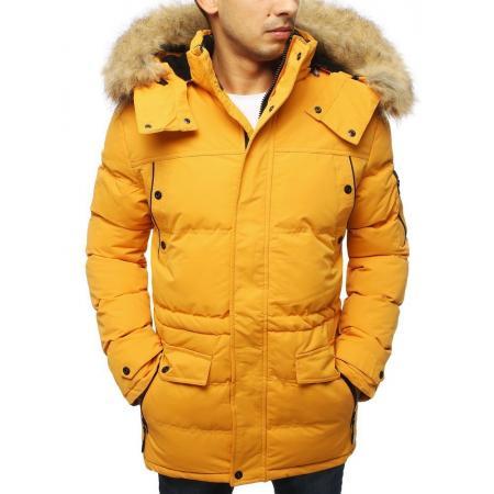 Pánska bunda zimná WINTER žltá