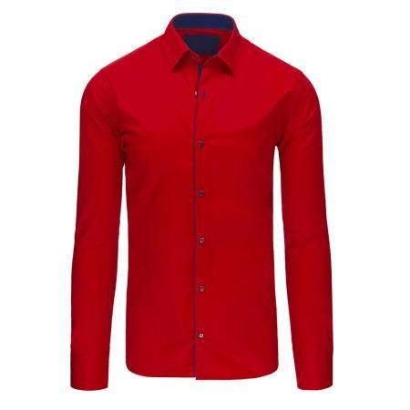 Pánska štýlová košele červená