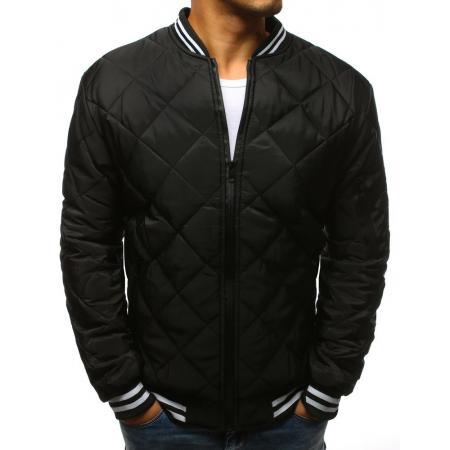 Pánska STYLE bunda prešívaná bomber jacket čierna