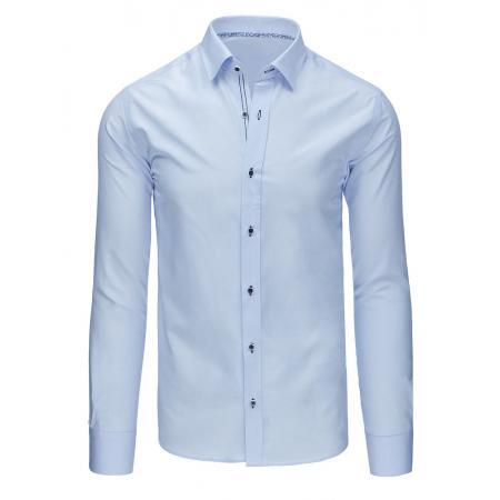 Elegantní pánska košele modrá
