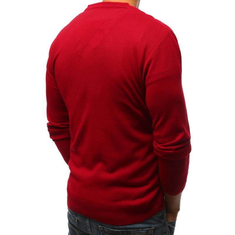 38d85c9456e0 Pánsky červený sveter