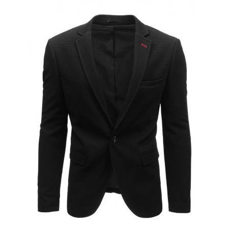 Elegantné pánske sako čierne