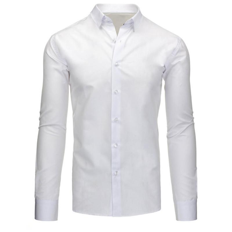 7074a40cc911 Pánska štýlová košeľa biela