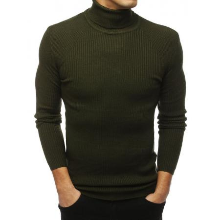 Pánsky MODERN sveter golf khaki