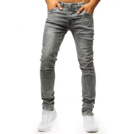 Pánske jeans nohavice STYLE šedé