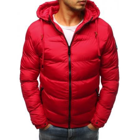 Pánska bunda zimná WINTER prešívaná červená