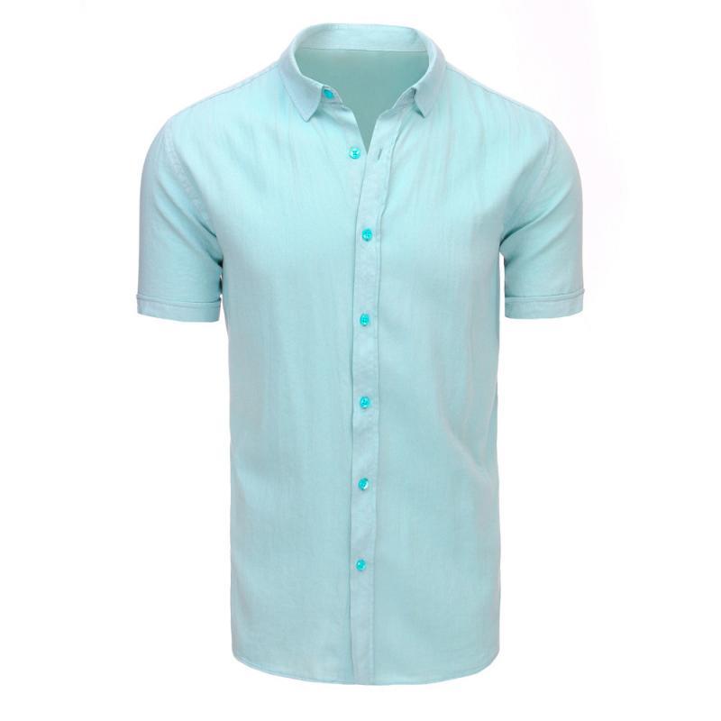 fc6b2c880bd1 Pánska modernej košeľa zelená