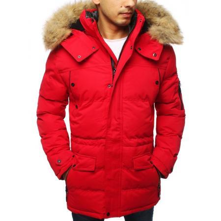 Pánska bunda zimná WINTER červená