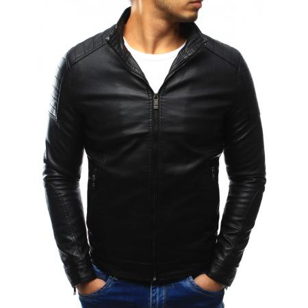 Pánska koženka bunda čierna