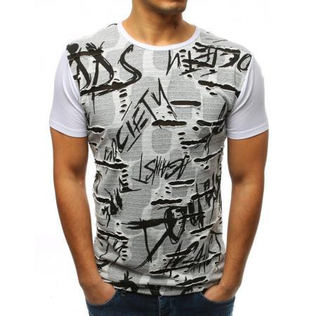 276ec38ede75 Pánske ELEGANT tričko s potlačou bielej