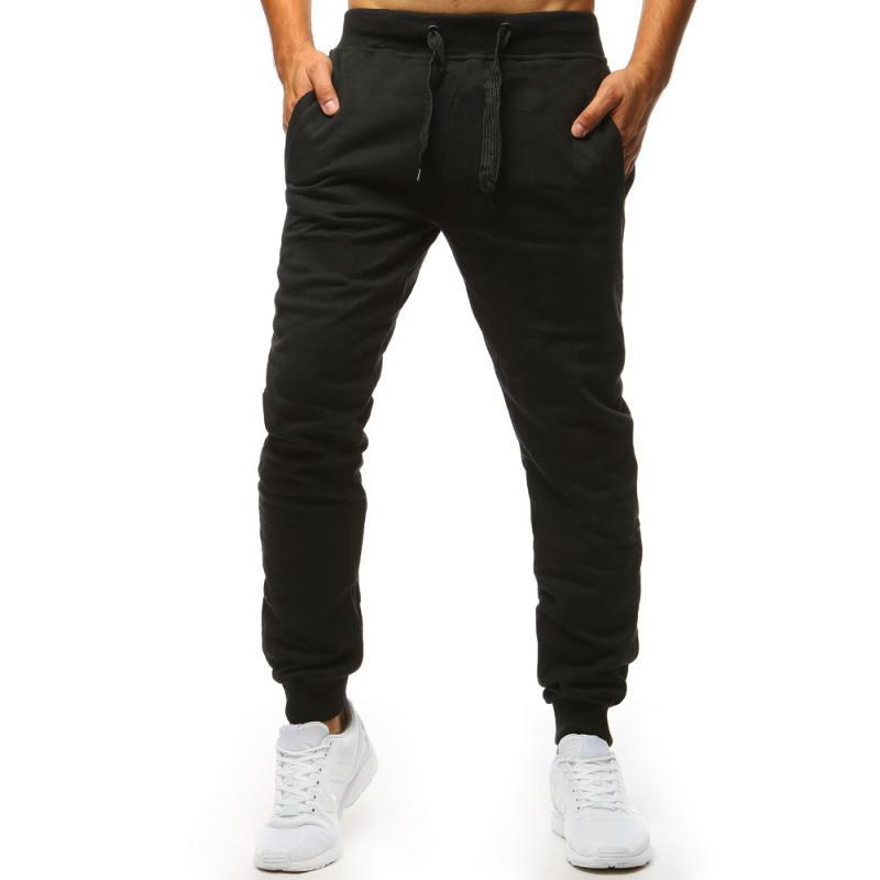 e94f1ebd14e8 Pánske nohavice STYLE tepláky čierne
