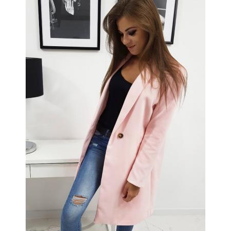 Plášť (kabát) dámsky Trine farebný ružový