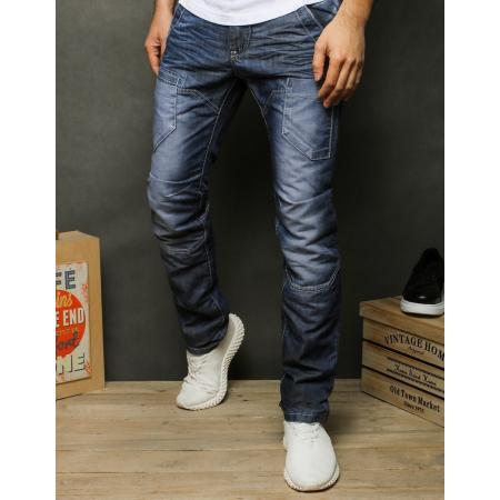 Pánske jeansy modrej UX2472