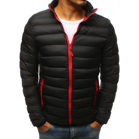 Zimná pánska bunda prešívaná čierna