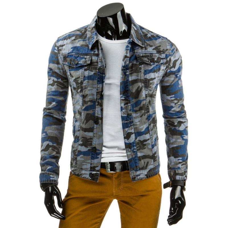 Pánska štýlová jeansová (džínsová) bunda  0b3654885e4