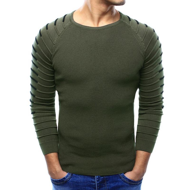 cac803a0dc82 Pánsky sveter khaki