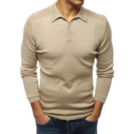 Pánsky MODERN sveter béžový