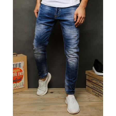 Pánske jeansy modrej UX2473