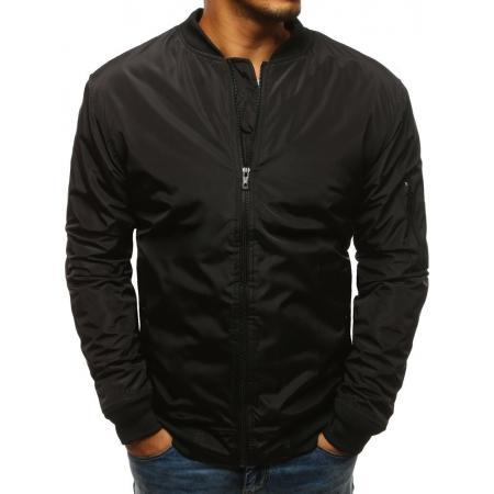 Pánska NEWSTYLE bunda bomber jacket čierna