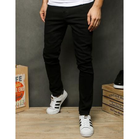 Pánske jeansy čierne UX2521