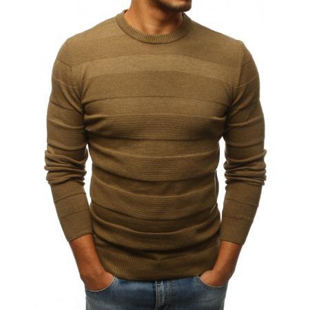 Pánsky STYLE sveter hnedý