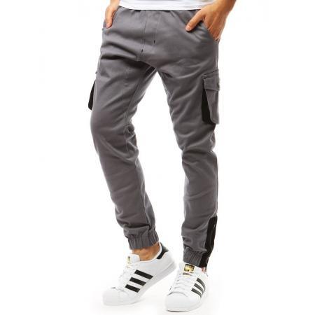 Pánske nohavice STYLE JOGGER šedé