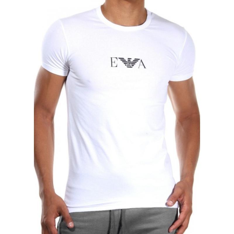c462d413ad Pánske tričko Emporio Armani 111267 CC715 biela