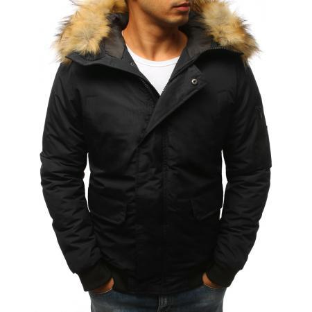 Pánska zimná bunda čierna