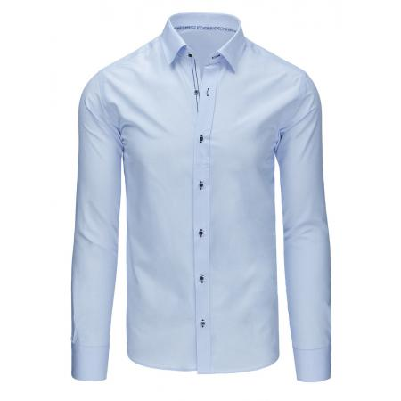 c0475cb7f644 Elegantní pánska košele modrá