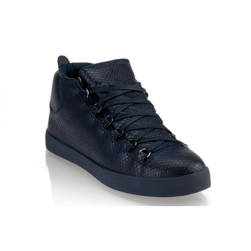 c42f26dd70e7 Pánske moderné kožené topánky (tenisky) GOV DENIM 008-3BL navy ...