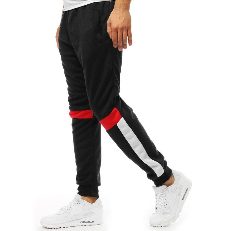 3d7b8bbd5a Pánske nohavice STYLE tepláky čierne