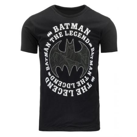 e4c6583a06d1 Pánske tričko s potlačou (tričko) Batman čierne