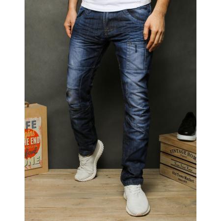Pánske jeansy modrej UX2471
