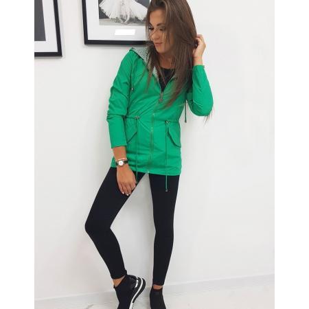 Obojstranná bunda dámska THERESA zelená