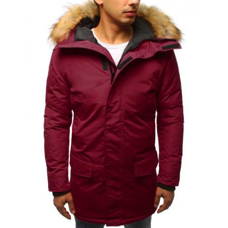 Pánska zimná bunda červená
