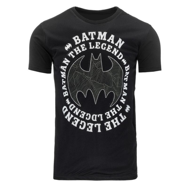 3c51121ff6ec Pánske tričko s potlačou (tričko) Batman čierne