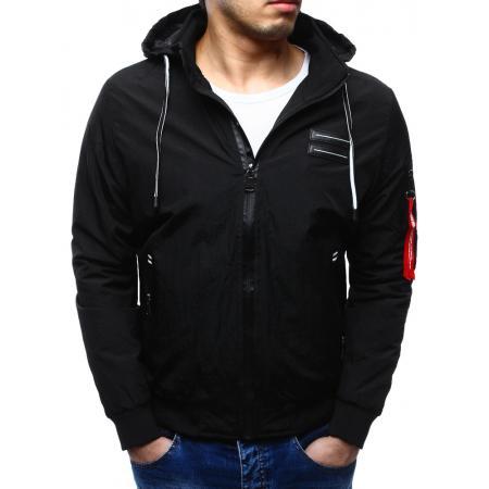 Pánska bunda prechodová čierna