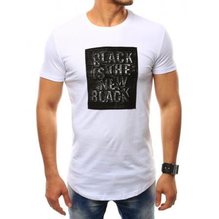 Pánské bílé tričko