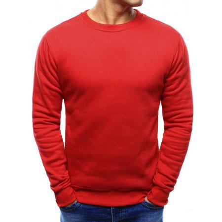 Pánska ELEGANT mikina jednofarebná červená 176efa4d412
