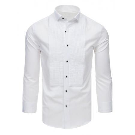13fb57bd3 Pánska spoločenská košeľa k obleku biela