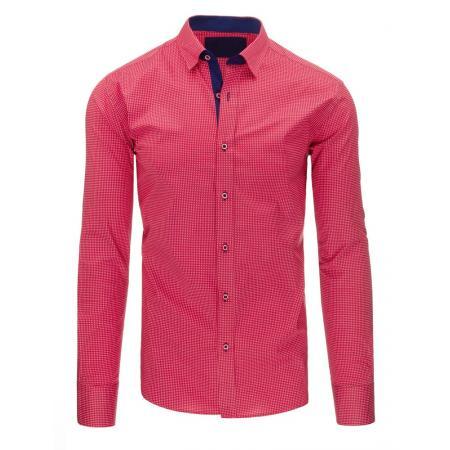 c2fbab3d9eab Pánská košile elegantní růžová slim fit