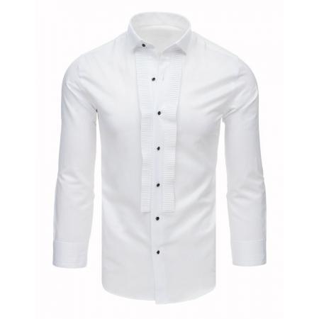 Pánska spoločenská košeľa k obleku biela